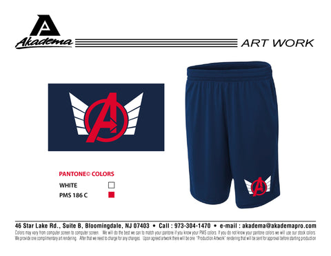Avengers Baseball Club Shorts