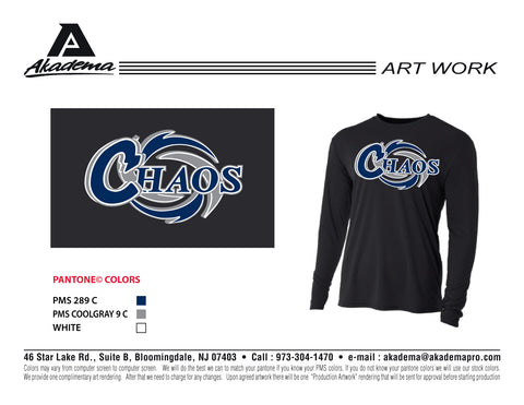 Chaos Long Sleeve DryFit