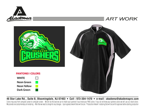 Colorado Crushers Cage Jacket
