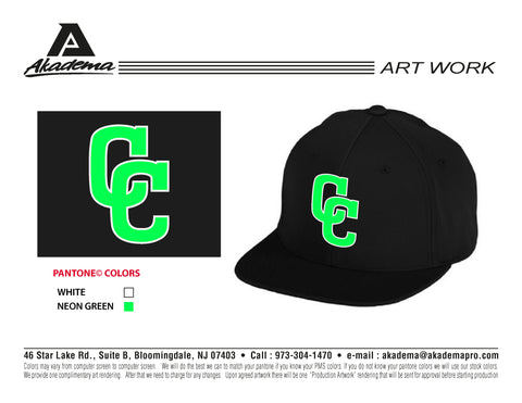 Colorado Crushers Black 'CC' Hat
