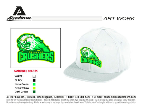 Colorado Crushers White 'Logo' Hat