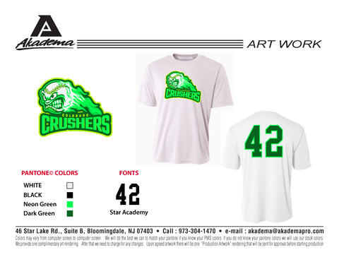 Colorado Crushers DryFit Tee