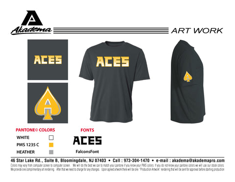 Aces Cooling Performance Tee