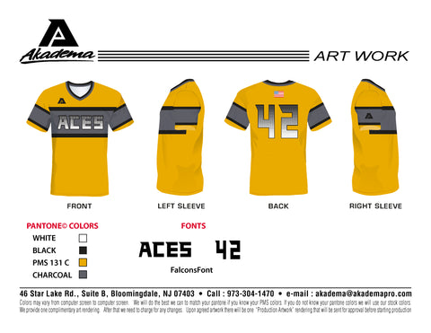 Aces Yellow Jersey