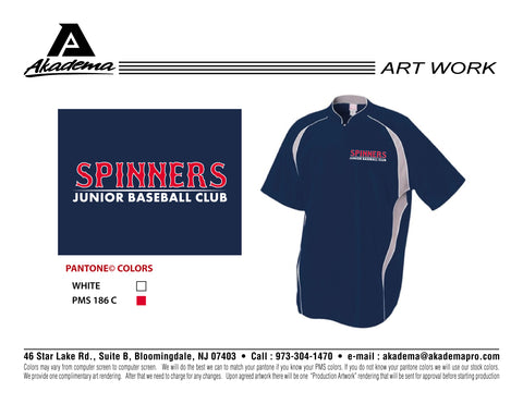 Spinners Baseball Club Cage Jacket
