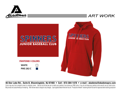 Spinners Baseball Club Tech Hoodie