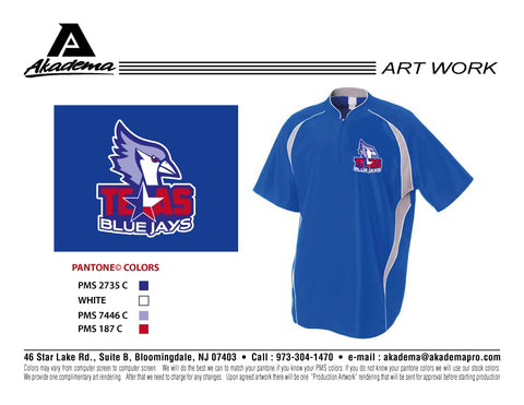 Texas Blue Jays Cage Jacket