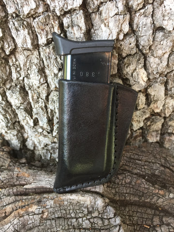 .380 Pocket Magazine Holder (Cowhide)