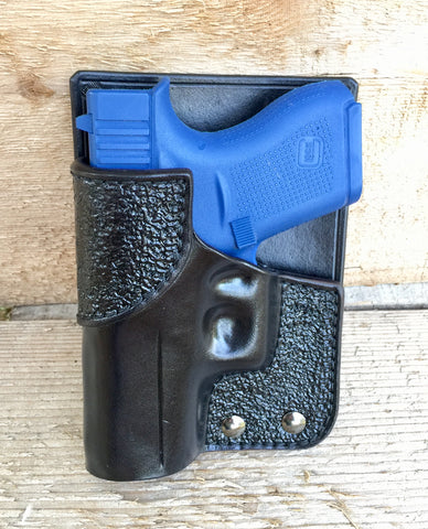 Back Pocket Holsters | Handcrafted Leather Sewn Holsters
