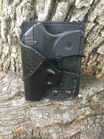 Ruger LCP, Right Handed, Black Cowhide