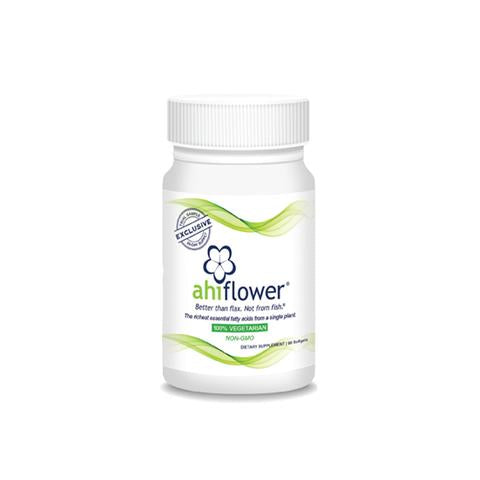 Ahiflower® Oil Nutritional Supplements (90 softgels/bottle)
