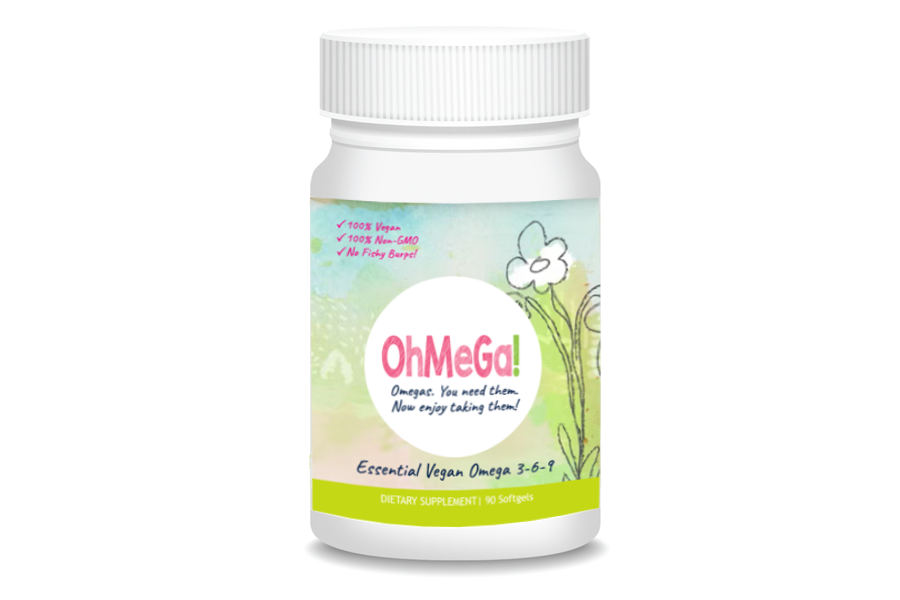 OhMeGa! Ahiflower® Oil Nutritional Supplements (90 softgels/bottle)