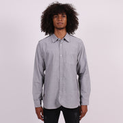 The Paradigm Tailored Shirt with Hand Pockets - Gray