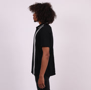 The Retro Sweater Knit with Hand Pockets - Black