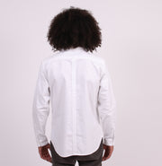 The Sojourn Tailored Shirt with Hand Pockets - White