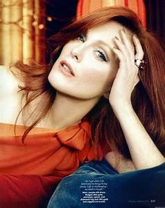 Wear terra cotta with deep red hair like Julliane