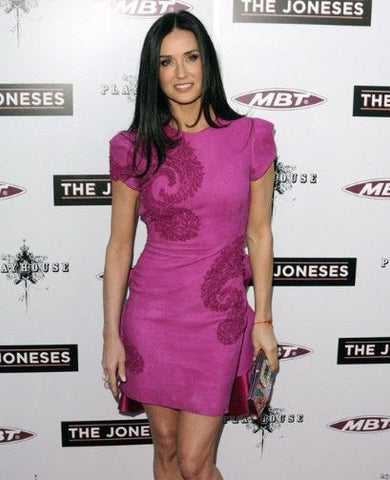 Demi Moore in the pink