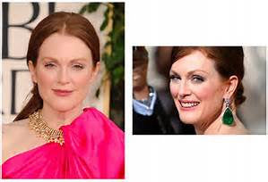 Julianne Moore in hot pink