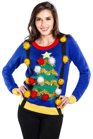 Ugly Christmas Sweater with tree
