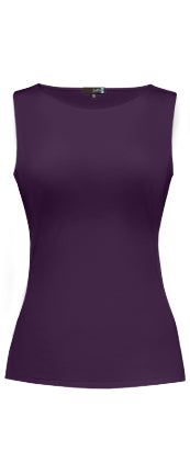 Sabrina Neck Sleeveless Top