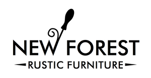 new forest rustic furniture logo, rustic furniture