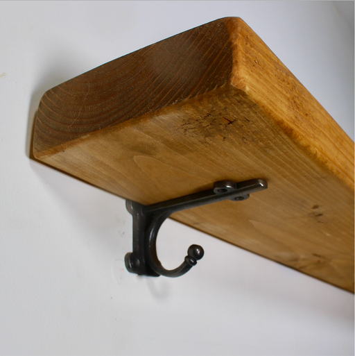 Rustic Industrial Chestnut Shelf