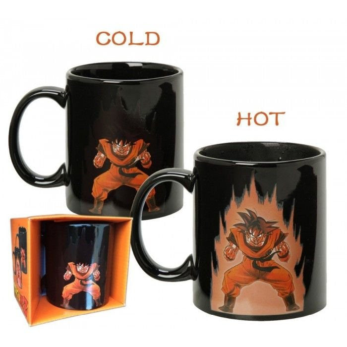 Heat Color Changing Goku Mugs