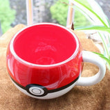Poké Ball Ceramic Mugs