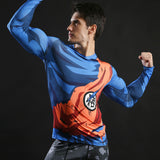 Goku Master Roshi Symbol Armour Long Sleeve