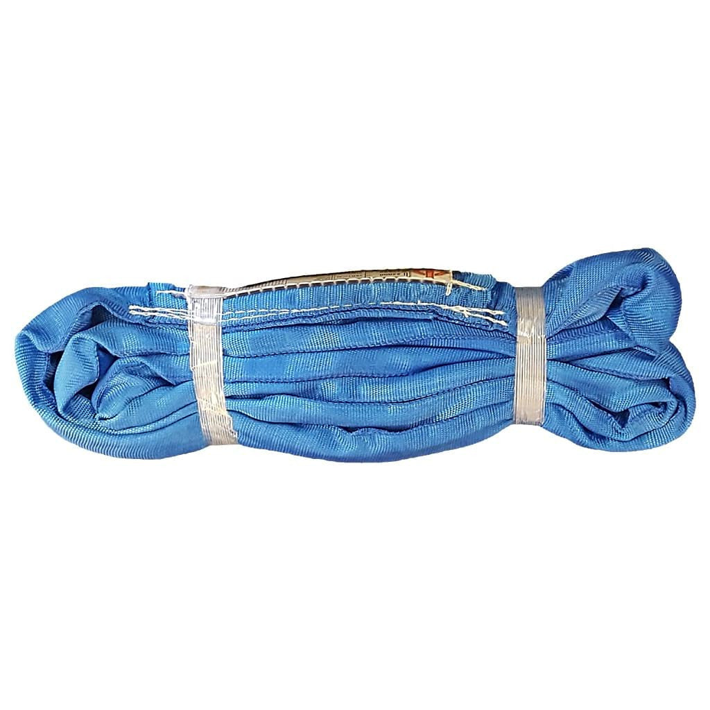 4' ENDLESS ROUND SLING, VERTICAL RATING 22,000 lb, BLUE