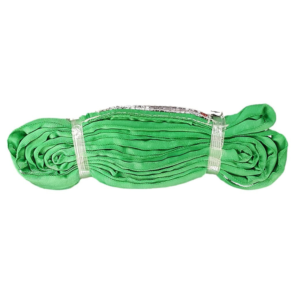 20' ENDLESS ROUND SLING, VERTICAL RATING 6,000 lb, GREEN