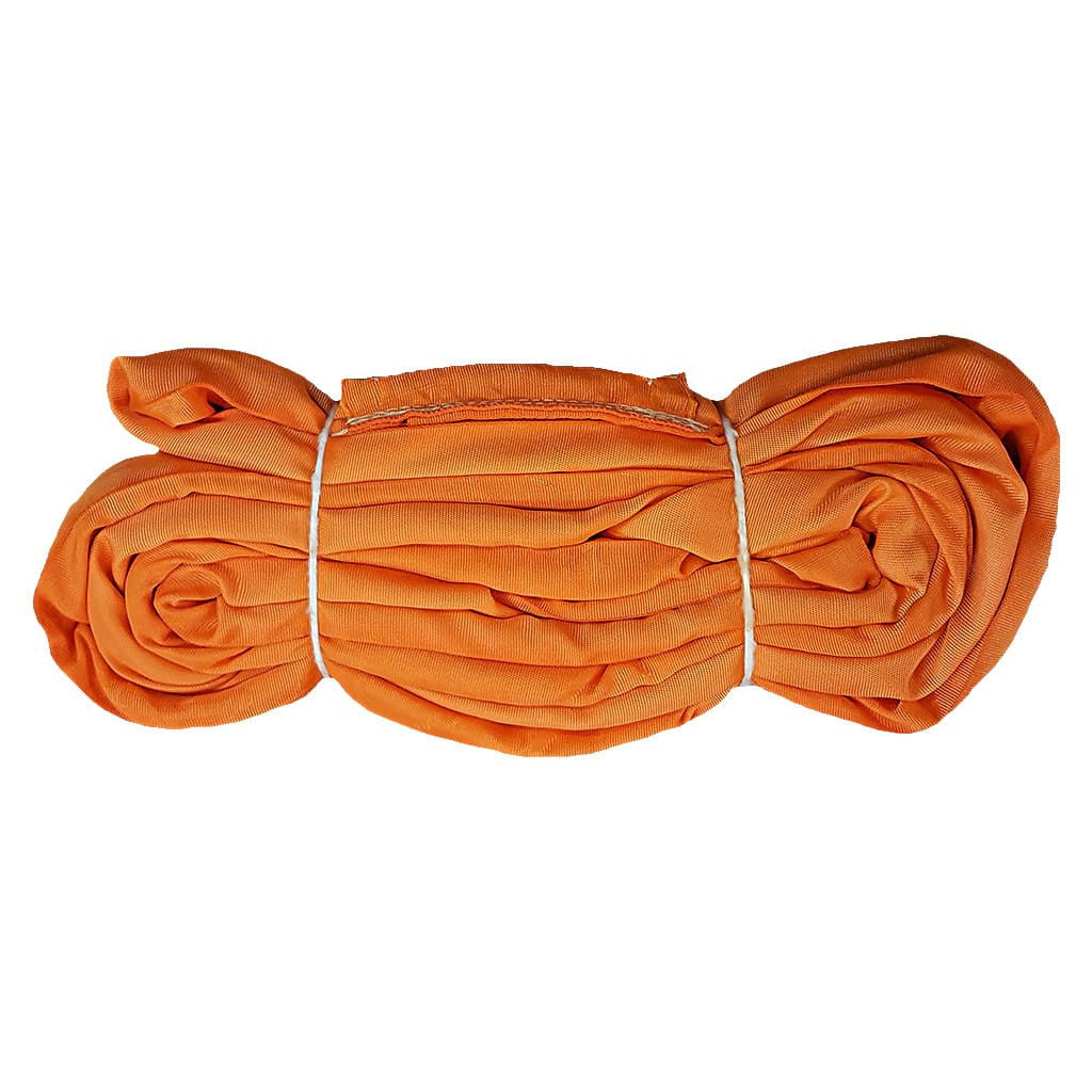 4' ENDLESS ROUND SLING, VERTICAL RATING 26,000 lb, ORANGE
