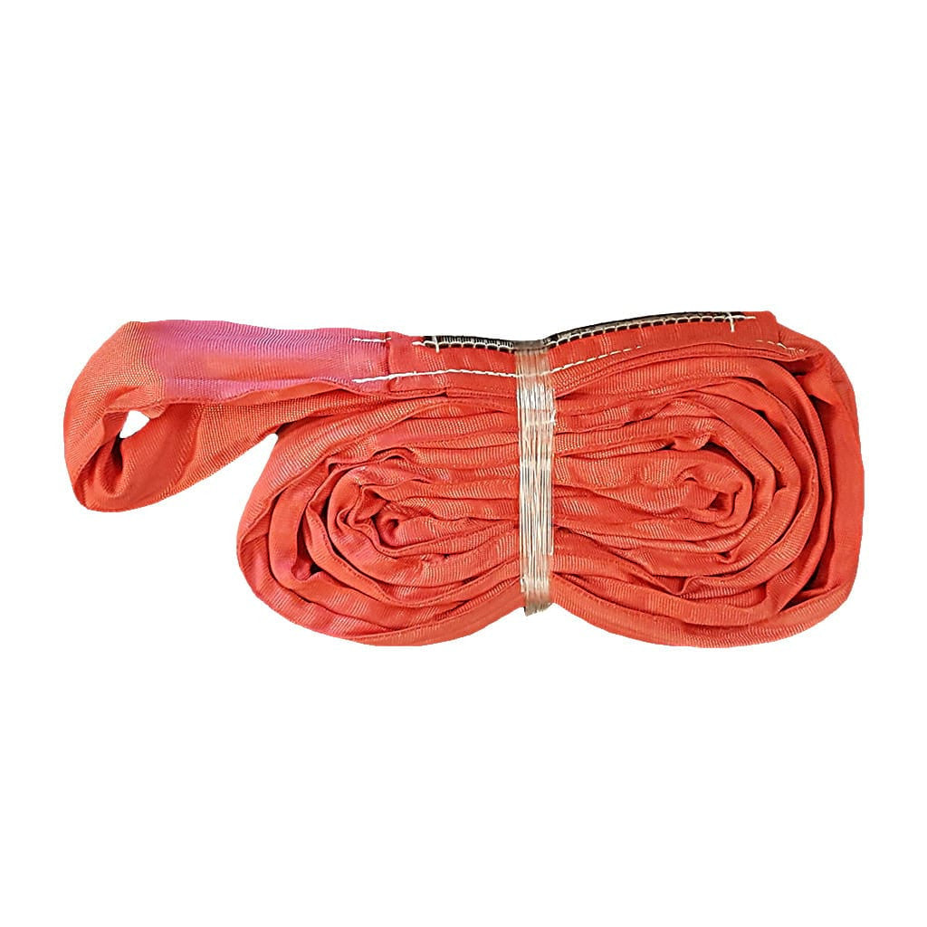 8' ENDLESS ROUND SLING, VERTICAL RATING 14,000 lb, RED