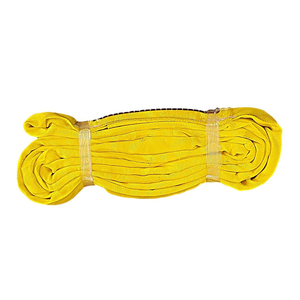 12' ENDLESS ROUND SLING, VERTICAL RATING 9,000 lb, YELLOW