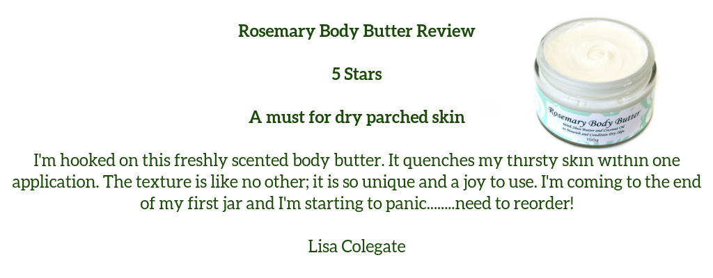 Rosemary Body Butter Review