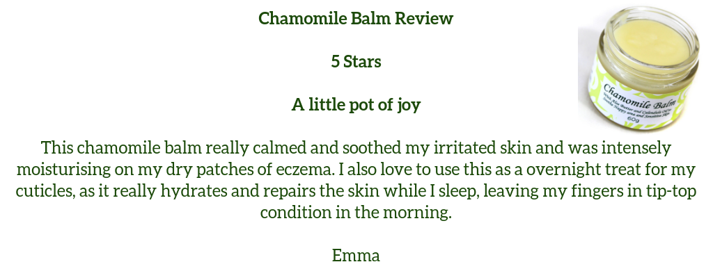Chamomile Balm Review