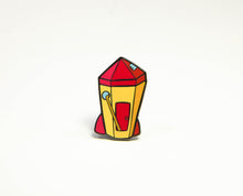 Rocket Ship Pin
