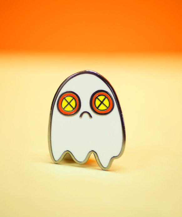 Sad Ghost Pin *NEW*