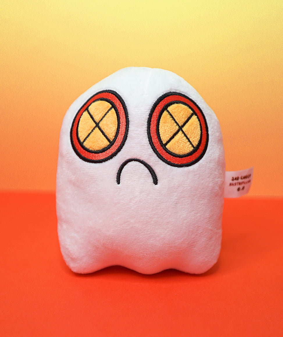 Sad Ghost Plush