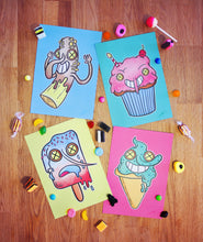 Sweet Gang Art Cards