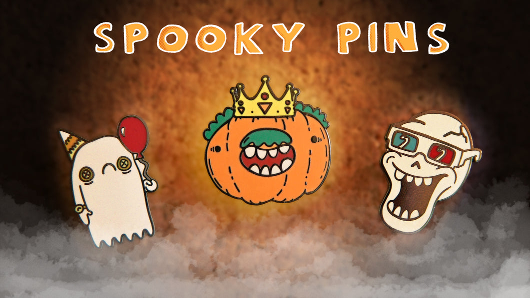 Spooky Pins!