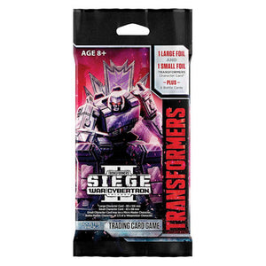 Transformers TCG : War for Cybertron Siege II booster
