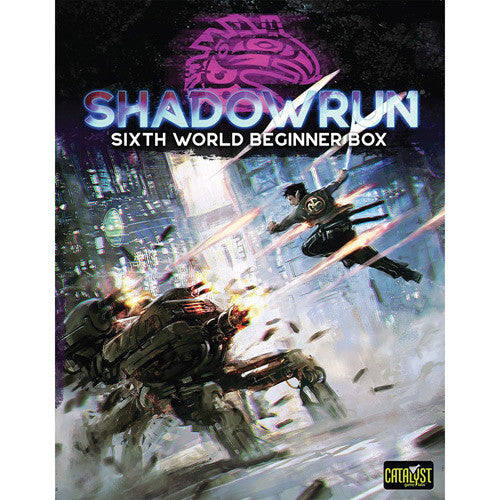 Shadowrun sixth world - Begninner Box