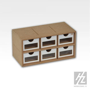 Workstation 6 Drawers Module