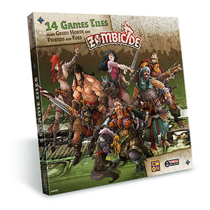 Zombicide - Green Horde extra tiles pack