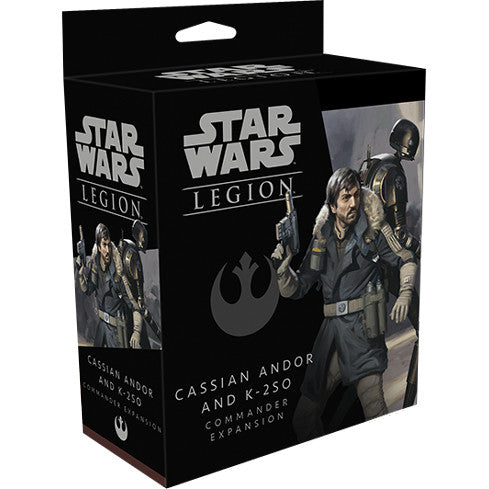 Star Wars: Legion - Cassian Andor & K-2S0