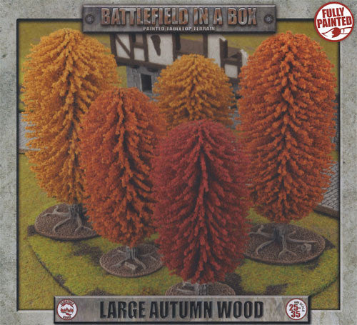 Battlefield in a Box: large autumn wood