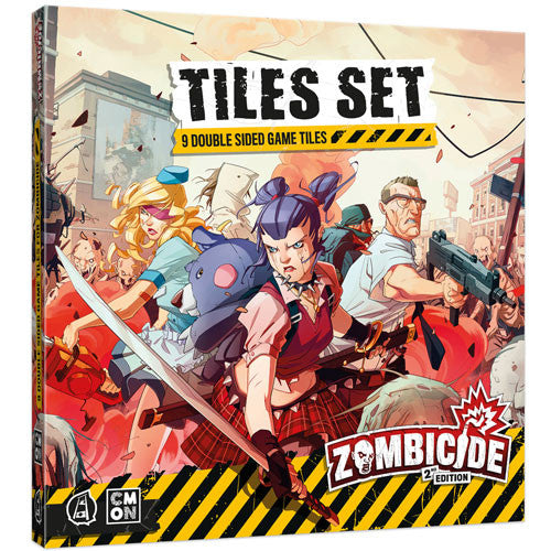 Zombicide 2nd edition - Tiles Set
