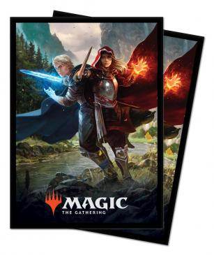 Throne of Eldraine Royal Scions Standard Deck Protector sleeves 100ct for Magic: The Gathering