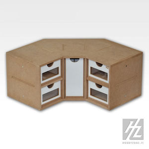 Workstation Drawers Corner Module